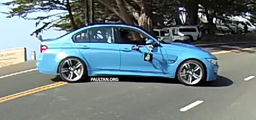 Production F80 BMW M3 caught undisguised Image #207202