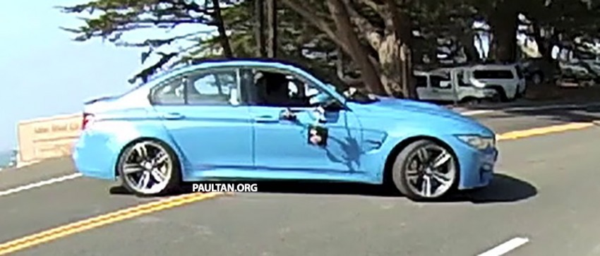 Production F80 BMW M3 caught undisguised Image #207199