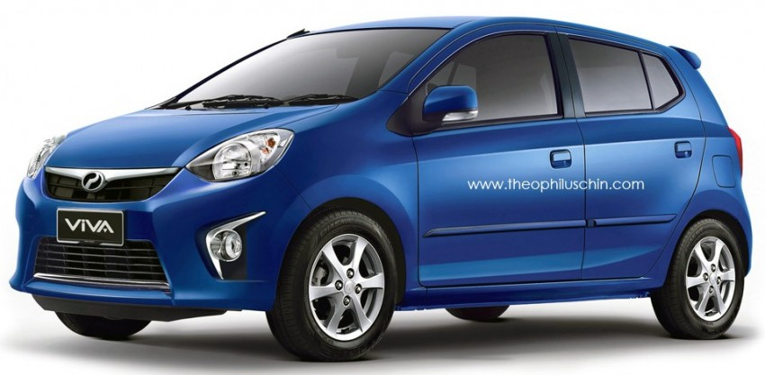 Perodua Viva successor rendered by Theophilus Chin Image #203158