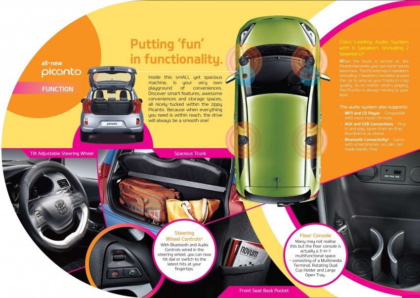 Kia Picanto Malaysian specs previewed on website Image #204727