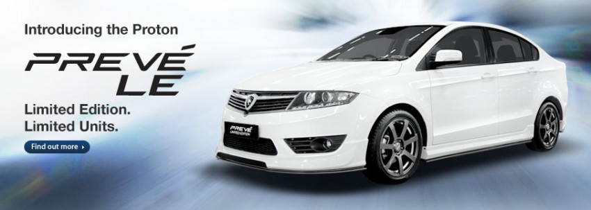 Proton Preve LE priced at RM79,688 – six airbags Image #205442
