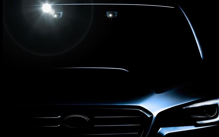 Subaru Levorg – teasing the new Legacy tourer Image #207322