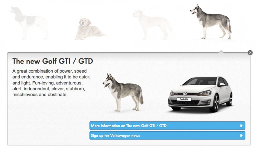 VIDEO: VW's 'Woofwagen' ad campaign stars 36 dogs Image #207298