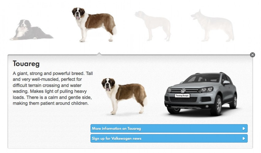VIDEO: VW's 'Woofwagen' ad campaign stars 36 dogs Image #207299