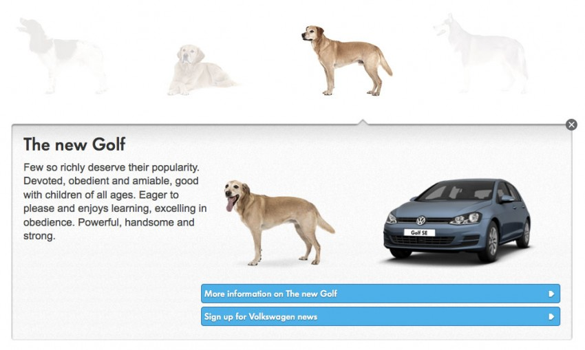VIDEO: VW's 'Woofwagen' ad campaign stars 36 dogs Image #207301
