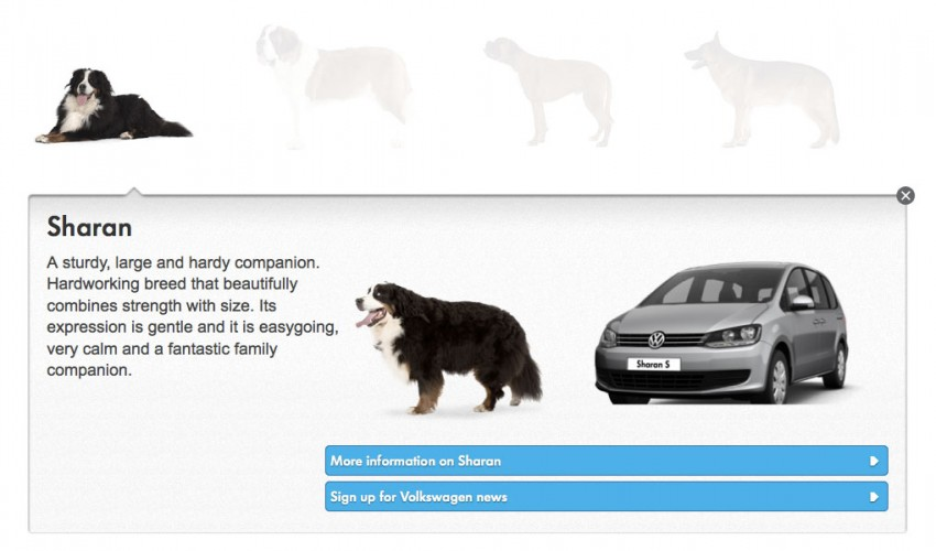 VIDEO: VW's 'Woofwagen' ad campaign stars 36 dogs Image #207308