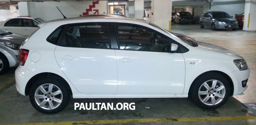 New Volkswagen Polo hatch variant sighted at JPJ Image #206888