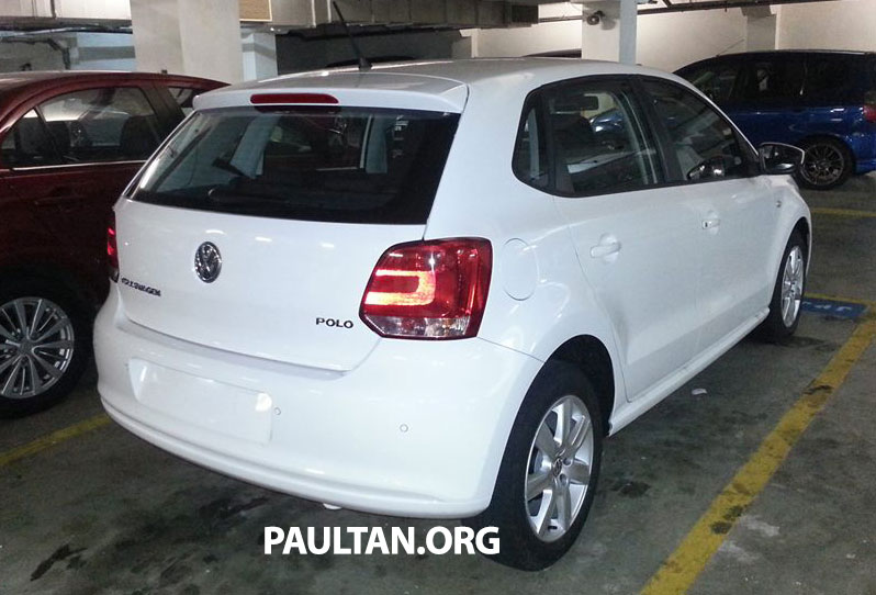 New Volkswagen Polo hatch variant sighted at JPJ Image #206889