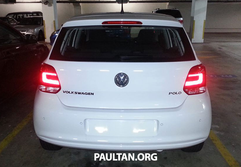 New Volkswagen Polo hatch variant sighted at JPJ Image #206890
