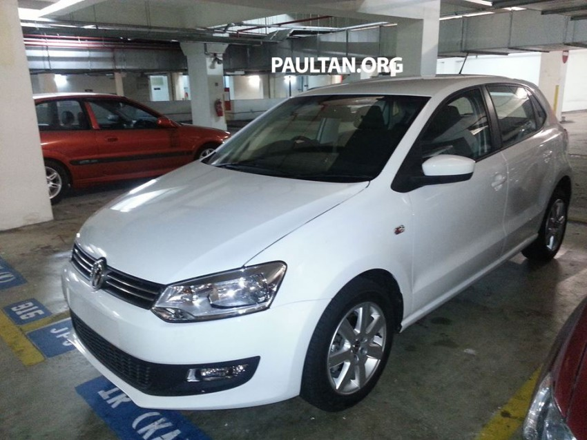 New Volkswagen Polo hatch variant sighted at JPJ Image #206903