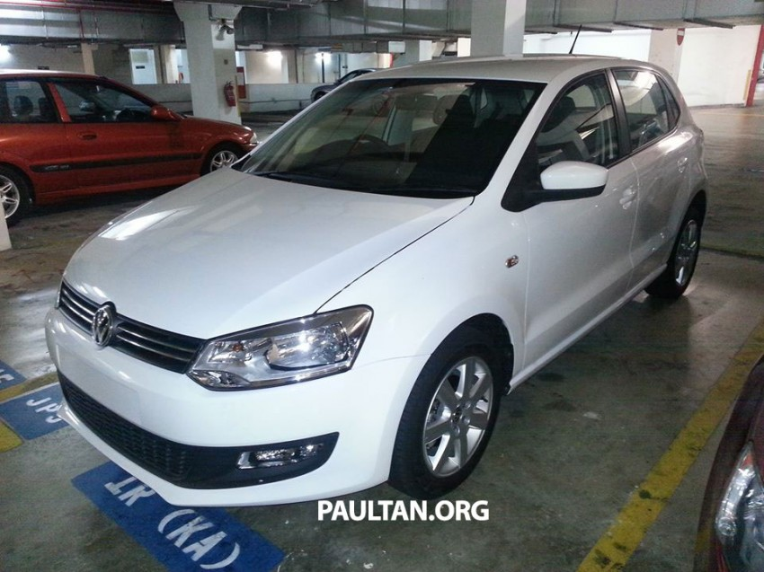 New Volkswagen Polo hatch variant sighted at JPJ Image #206904