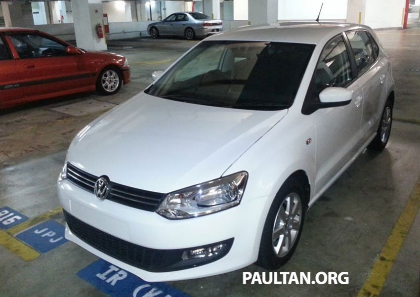 New Volkswagen Polo hatch variant sighted at JPJ Image #206907
