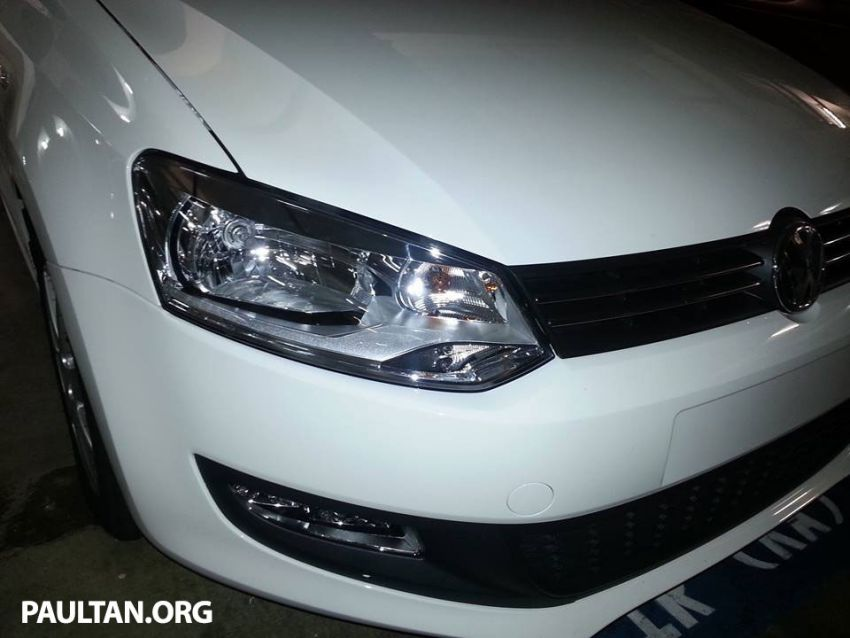 New Volkswagen Polo hatch variant sighted at JPJ Image #206908