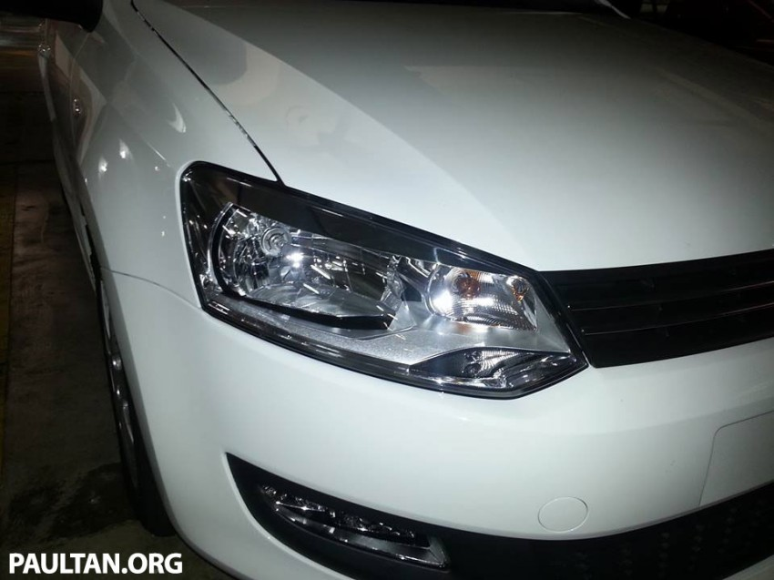 New Volkswagen Polo hatch variant sighted at JPJ Image #206909