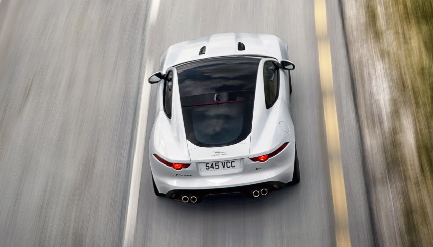 Tokyo 2013: Jaguar F-Type Coupe debuts, gets 550 PS Image #212675