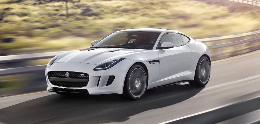 Tokyo 2013: Jaguar F-Type Coupe debuts, gets 550 PS Image #212676