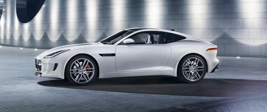 Tokyo 2013: Jaguar F-Type Coupe debuts, gets 550 PS Image #212679