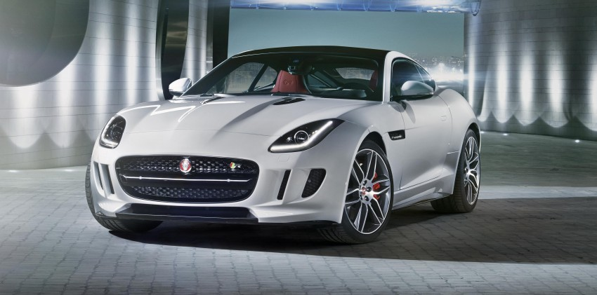 Tokyo 2013: Jaguar F-Type Coupe debuts, gets 550 PS Image #212680