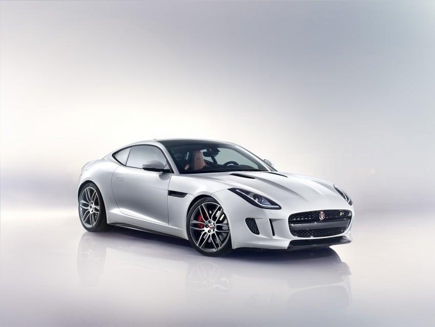 Tokyo 2013: Jaguar F-Type Coupe debuts, gets 550 PS Image #212681