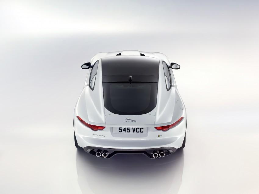 Tokyo 2013: Jaguar F-Type Coupe debuts, gets 550 PS Image #212682