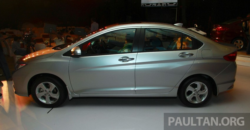 2014 Honda City makes world debut in India – class leading wheelbase, 1.5L diesel and petrol engines Image #213831