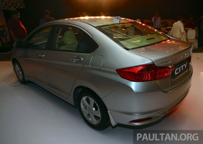 2014 Honda City makes world debut in India – class leading wheelbase, 1.5L diesel and petrol engines Image #213832