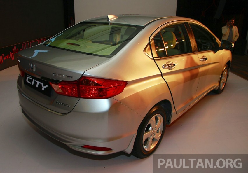 2014 Honda City makes world debut in India – class leading wheelbase, 1.5L diesel and petrol engines Image #213835