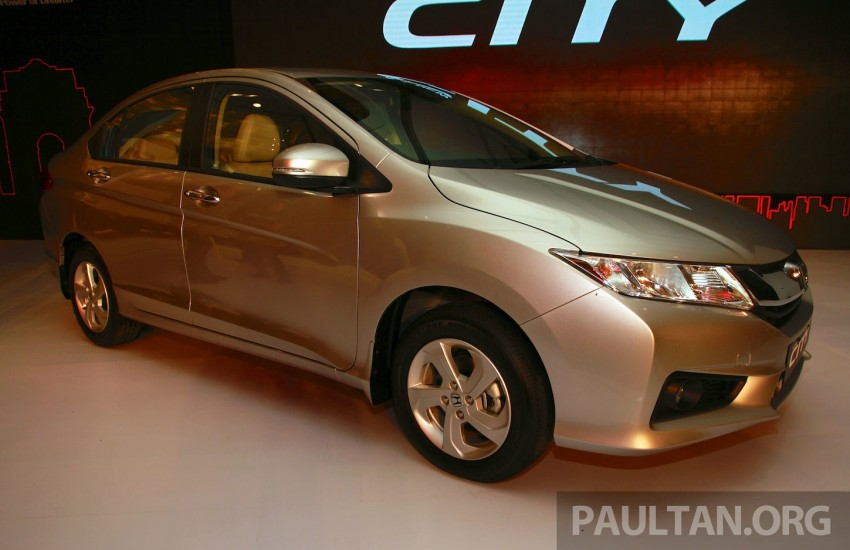 2014 Honda City makes world debut in India – class leading wheelbase, 1.5L diesel and petrol engines Image #213837