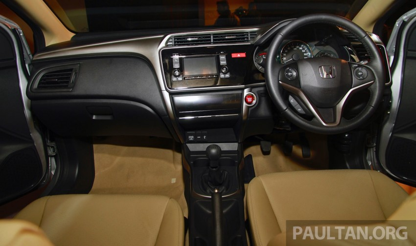 2014 Honda City makes world debut in India – class leading wheelbase, 1.5L diesel and petrol engines Image #213838