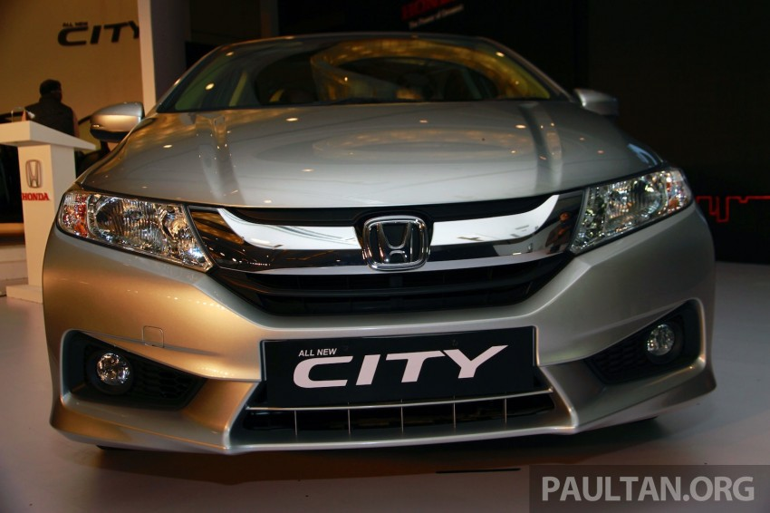 2014 Honda City makes world debut in India – class leading wheelbase, 1.5L diesel and petrol engines Image #213828