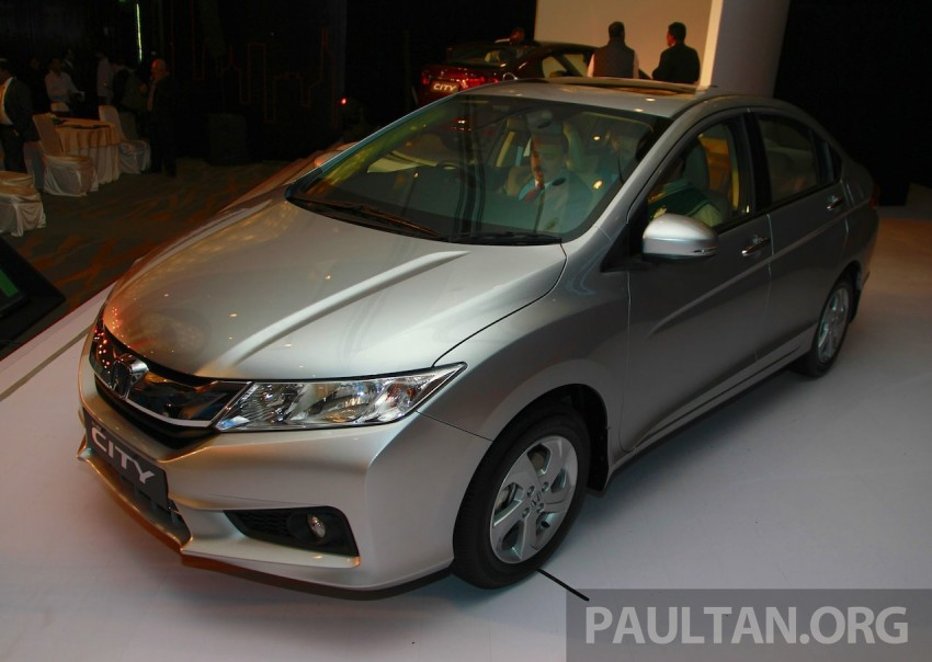2014 Honda City makes world debut in India – class leading wheelbase, 1.5L diesel and petrol engines Image #213830