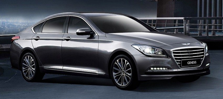 2014 Hyundai Genesis makes world debut in Korea Image #214146