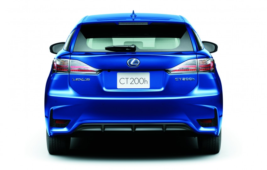 2014 Lexus CT 200h facelift unveiled in Guangzhou Image #212957