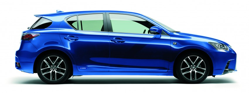 2014 Lexus CT 200h facelift unveiled in Guangzhou Image #212958