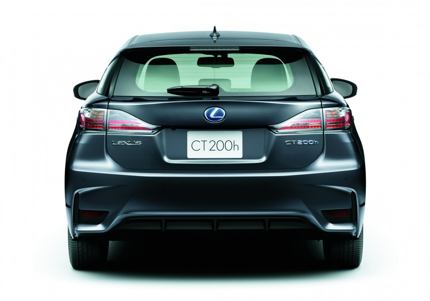 2014 Lexus CT 200h facelift unveiled in Guangzhou Image #212960