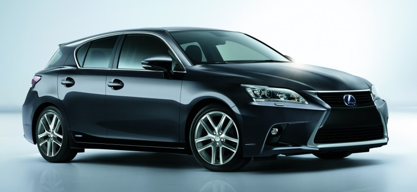 2014 Lexus CT 200h facelift unveiled in Guangzhou Image #212961
