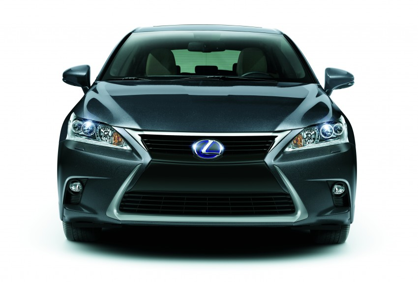2014 Lexus CT 200h facelift unveiled in Guangzhou Image #212962