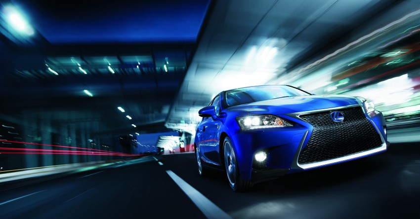 2014 Lexus CT 200h facelift unveiled in Guangzhou Image #212966