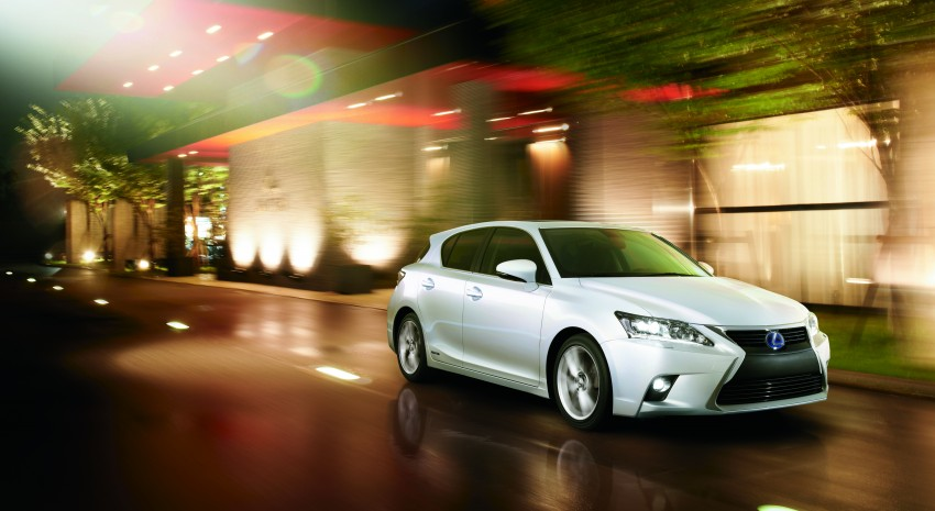 2014 Lexus CT 200h facelift unveiled in Guangzhou Image #212967