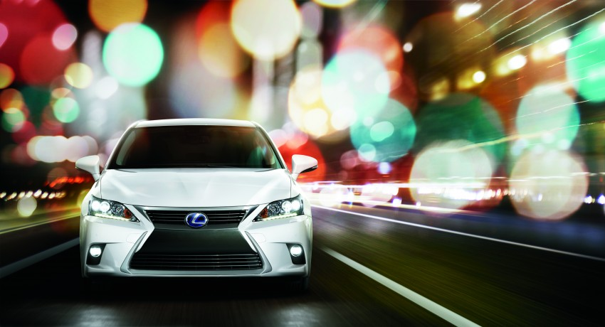2014 Lexus CT 200h facelift unveiled in Guangzhou Image #212970