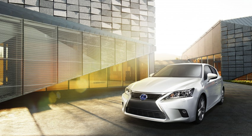 2014 Lexus CT 200h facelift unveiled in Guangzhou Image #212973