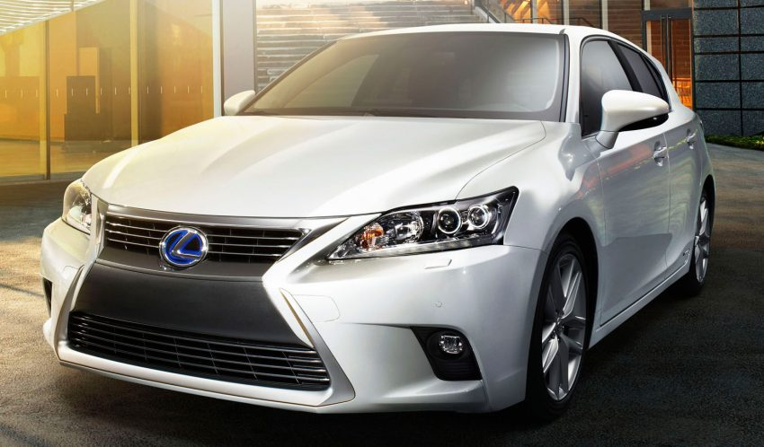 2014 Lexus CT 200h facelift unveiled in Guangzhou Image #212986