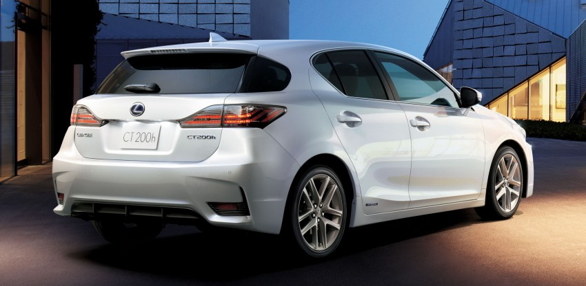 2014 Lexus CT 200h facelift unveiled in Guangzhou Image #212991