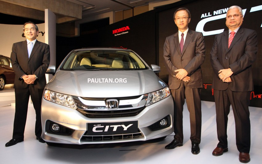 2014 Honda City makes world debut in India – class leading wheelbase, 1.5L diesel and petrol engines Image #213815
