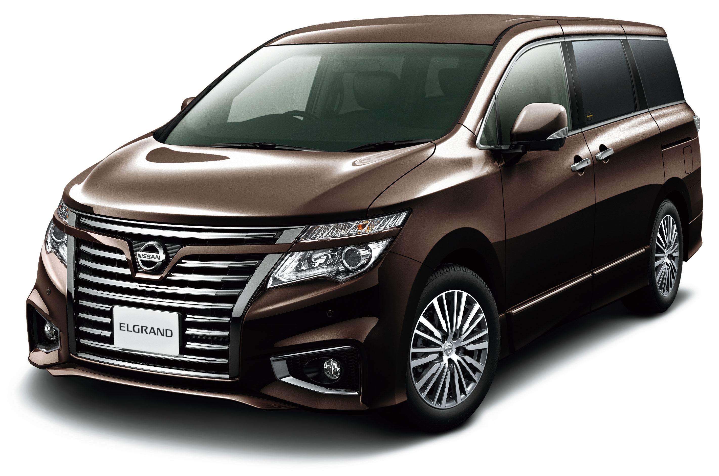 2014 Nissan Elgrand Facelift Has The Biggest Grille Ever