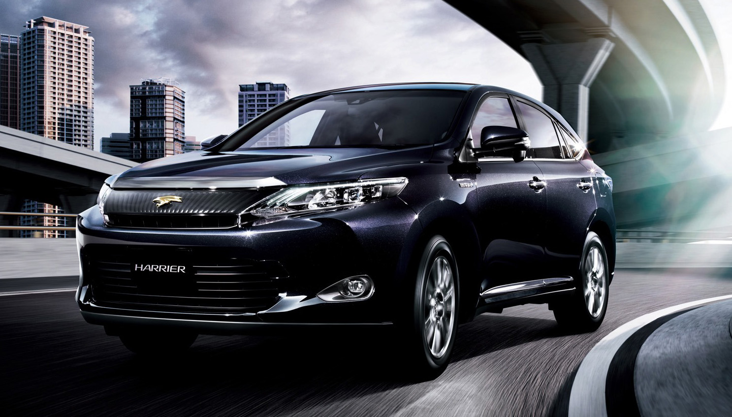2014 Toyota Harrier details revealed – 2.0 or 2.5 Hybrid ...