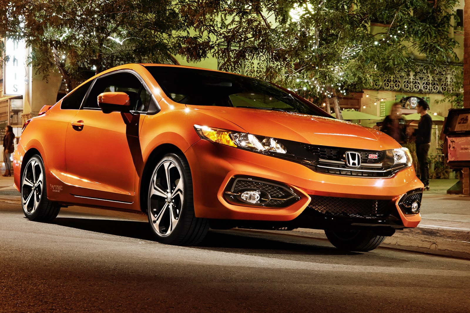 2014 honda civic coupe updated si gets more power. Black Bedroom Furniture Sets. Home Design Ideas