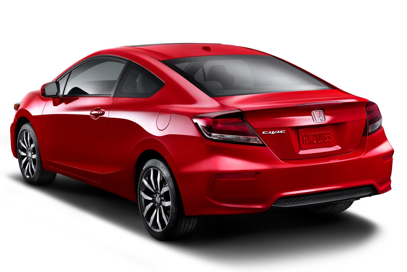 Back to Story: 2014 Honda Civic Coupe updated; Si gets more power