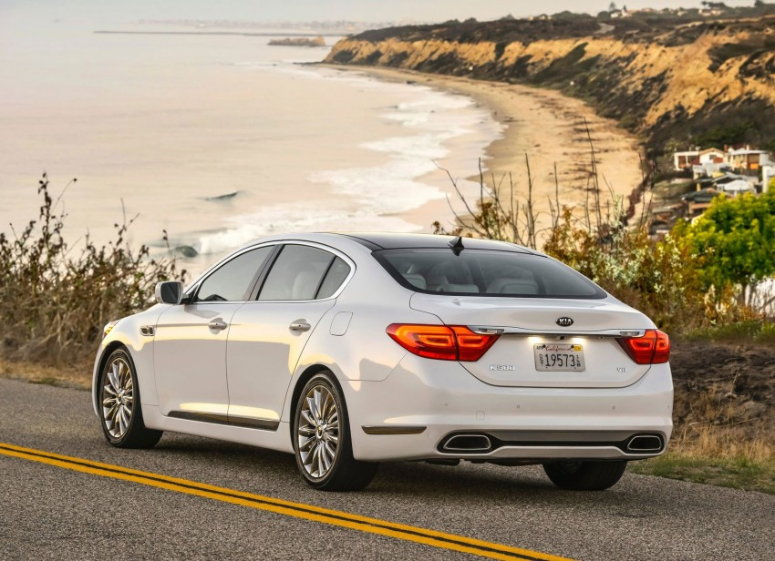 2015 Kia K900 – the flagship K9 goes to America Image #213925