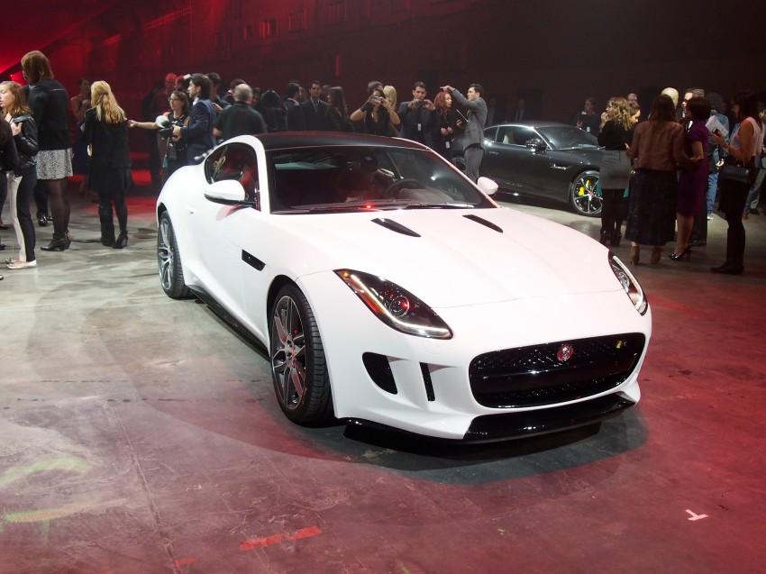 Tokyo 2013: Jaguar F-Type Coupe debuts, gets 550 PS Image #213478